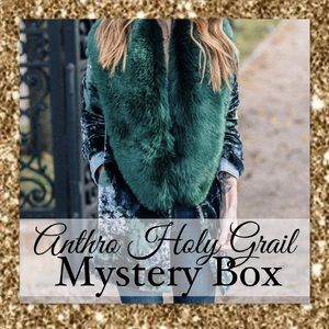 ANTHRO HOLY GRAIL MYSTERY BOX • 6 PIECES